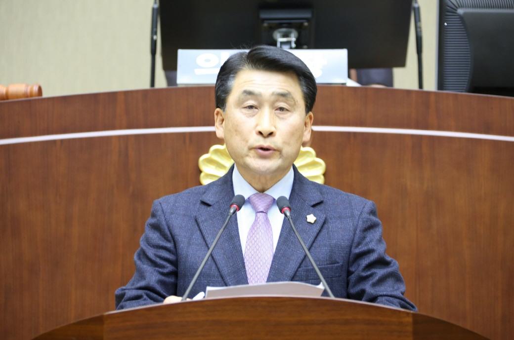 오준섭 의원, 5분 자유발언